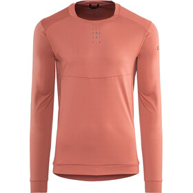 Cube AM Round Neck Jersey longsleeve Men marsala